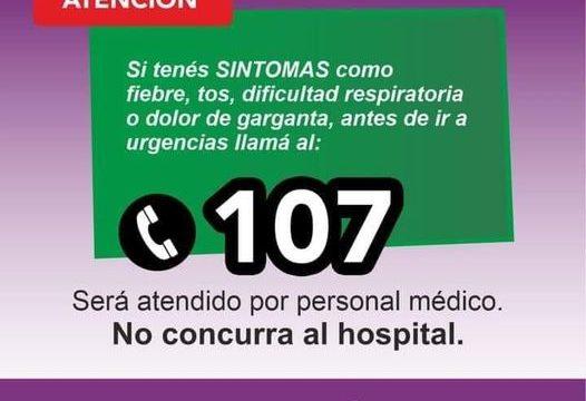 107 sintomas covid